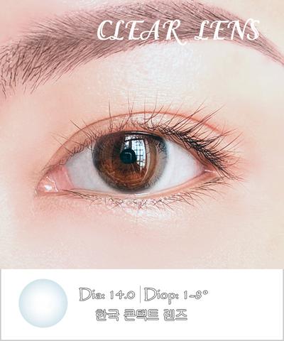 Kính áp tròng trong suốt Clear - Lens Hàn Quốc