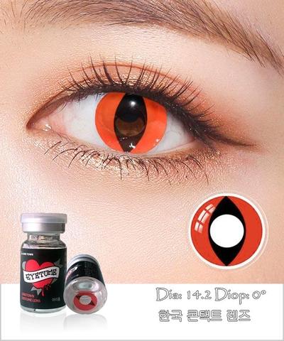 Lens Cosplay EyeTume - RED - màu đỏ