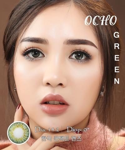 Kính áp tròng OCHO GREEN - Lens Silicone Hydrogel cao cấp