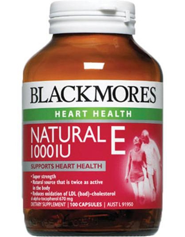 Black mores Natural Vitamin E