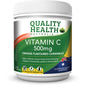 Viên nhai Vitamin C 500mg Quality Health