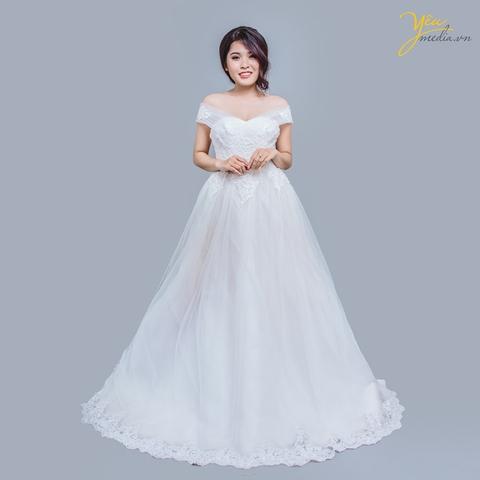 Váy cưới Oralie