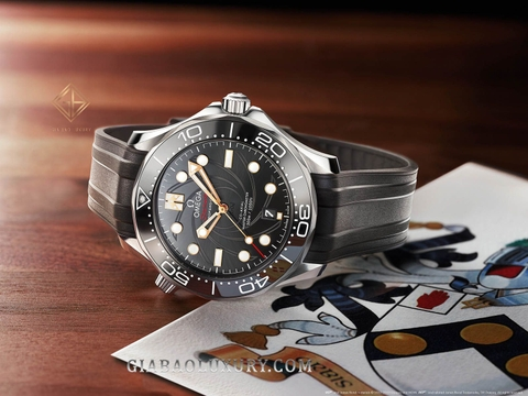 Review Đồng Hồ Omega Seamaster Diver 300M James Bond 007 Limited Edition 210.22.42.20.01.004