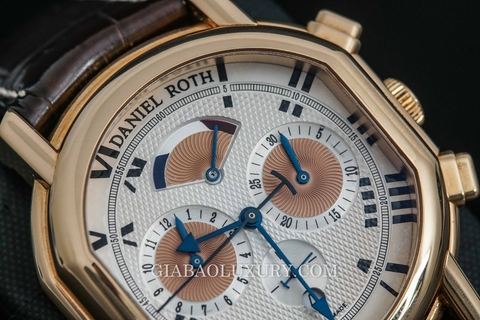 Review đồng hồ Daniel Roth Rose Auto Mechanic Chronograph