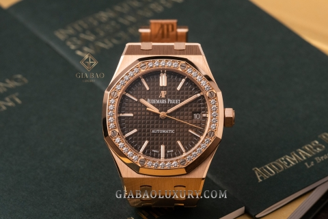 Review đồng hồ Audemars Piguet Royal Oak Selfwinding 37mm 15451OR.ZZ.1256OR.04