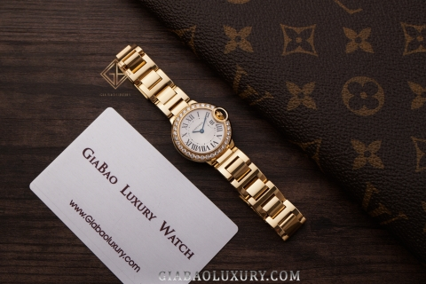 Review đồng hồ Cartier Ballon Bleu de Cartier