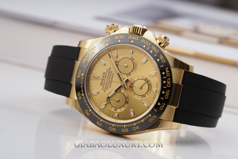 Review đồng hồ Rolex Cosmograph Daytona 116518LN