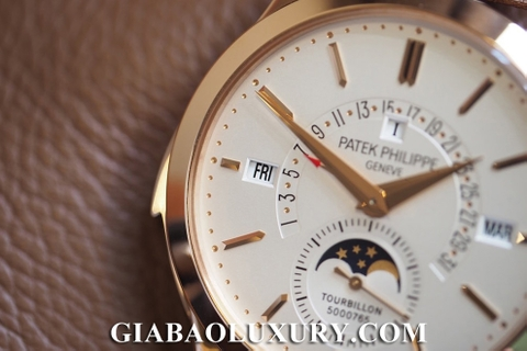 Review đồng hồ Patek Philippe Grand Complications 5216R