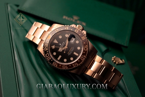 Review đồng hồ Rolex GMT-Master II 126715CHNR