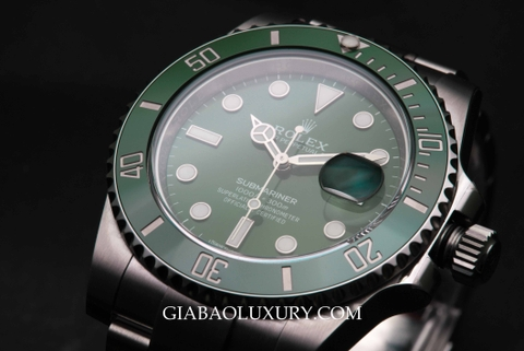 Review đồng hồ Rolex Submariner Date 116610LV - The Hulk
