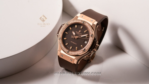 Đồng Hồ Hublot Big Bang Capuchino 38mm Automatic