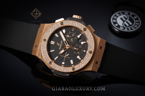 Review đồng hồ Hublot Big Bang King Gold Diamonds 44mm