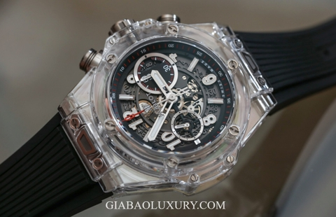 Review đồng hồ Hublot Big Bang Unico Magic Sapphire
