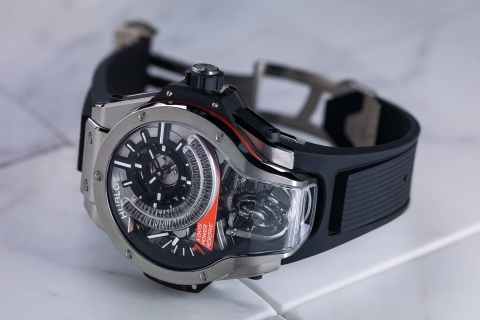 Review đồng hồ Hublot MP-09 Tourbillon Bi-Axis