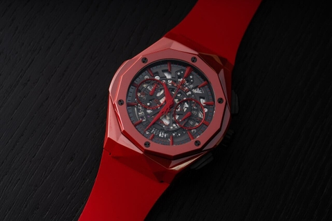 Review đồng hồ Hublot Classic Fusion Aerofusion Chronograph Orlinski Red Ceramic