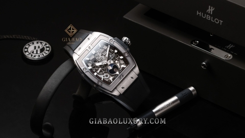 Review đồng hồ Hublot Spirit Of Big Bang Moonphase 42mm 647.NX.1137.RX