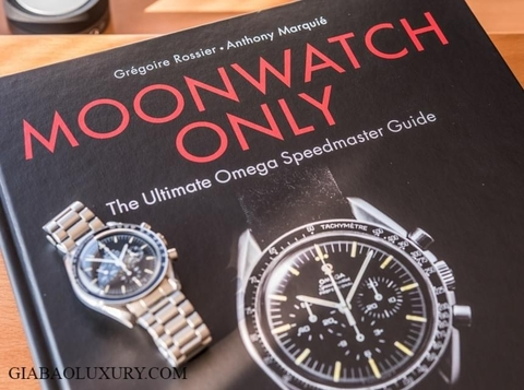 Moonwatch Only: The Ultimate Omega Speedmaster Guide - Cuốn sách đầy đủ nhất về Omega Speedmaster
