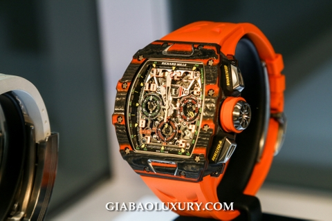 Review đồng hồ Richard Mille RM 11-03 Automatic Flyback Chronograph Mclaren tại Only Watch 2019