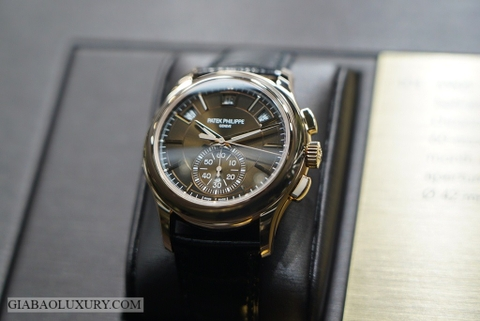 Giới thiệu đồng hồ Patek Philippe Complications 5905R Flyback Chronograph Annual Calendar