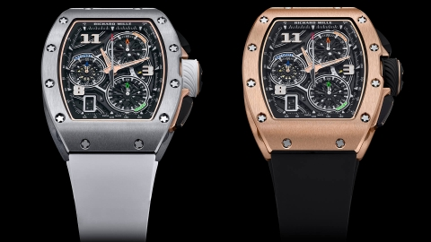 Richard Mille vừa tung ra đồng hồ RM 72-01 Flyback Chronograph
