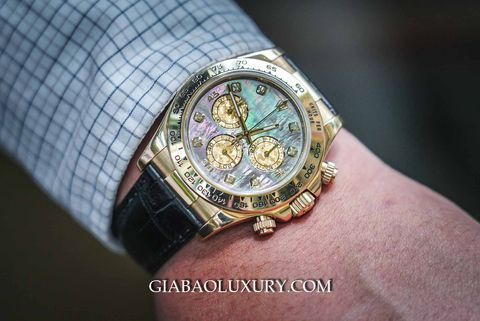 Review đồng hồ Rolex Cosmograph Daytona 116518