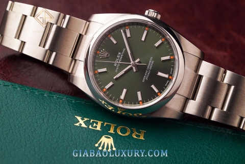 Review đồng hồ Rolex Oyster Perpetual 34 114200