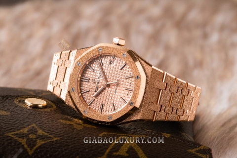 Review đồng hồ Audemars Piguet Royal Oak 37mm 15454OR.GG.1259OR.03