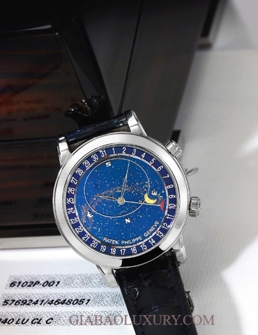 Đồng hồ Patek Philippe Grand Complications 6102P-001 Cellestial Moon Age