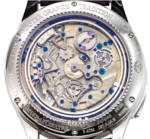 Đồng hồ Jaeger-leCoultre Master Grande Tradition Flying Tourbillon Skychart Minute Repeating Ref 187.3.46 Limited Edition