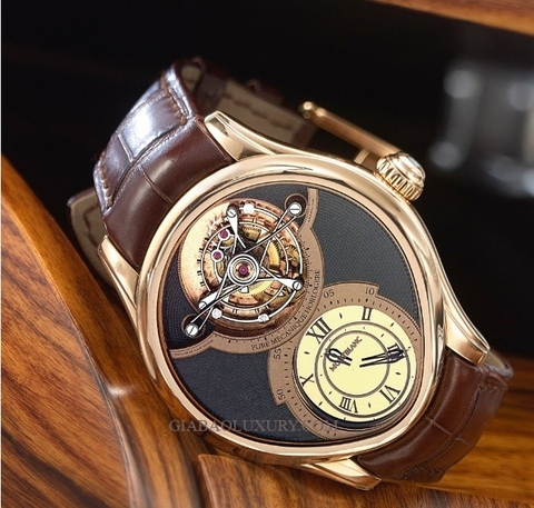 Đồng hồ Montblanc Grand Tourbillon Heures Mysterieuses Ref 104783 Limited Edition