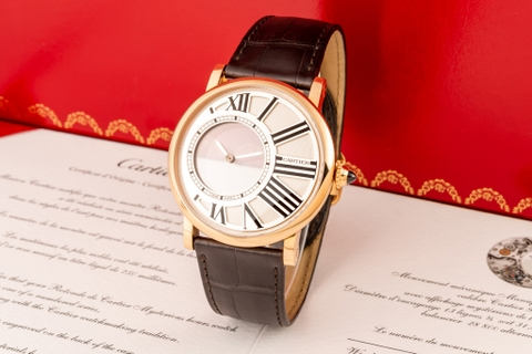 Đồng hồ Cartier Rotonde Mysterieuse W1556224