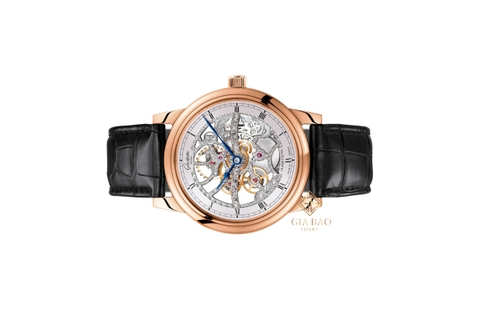 Đồng hồ Glashutte Original Senator Manual Winding Skeletonized Edition 1-49-18-01-05-30