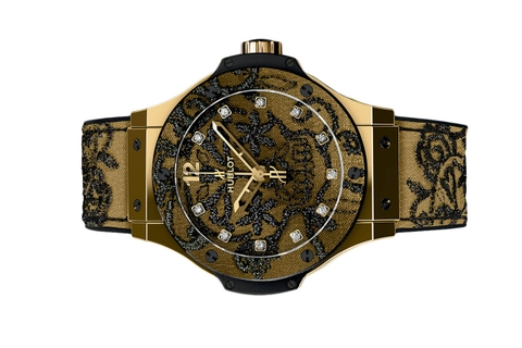 Đồng Hồ Hublot Big Bang Broderie Yellow Gold 41mm 343.vx.6580.nr.bsk16