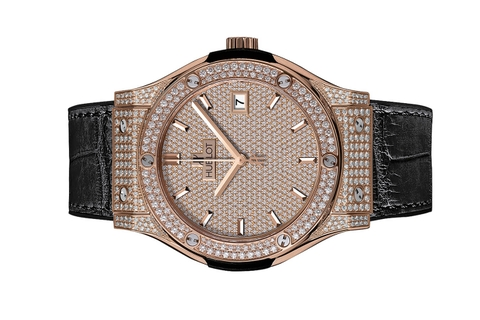 Đồng Hồ Hublot Big Bang King Gold Full Pavé 45mm 511.OX.9010.LR.1704