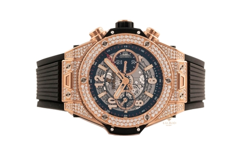 Đồng Hồ Hublot Big Bang Unico King Gold Pave 45mm 411.OX.1180.RX.1704