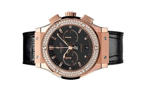 Đồng Hồ Hublot Classic Fusion Chronograph King Gold Diamonds 42mm 541.ox.1180.lr.1104