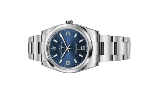 Đồng Hồ Rolex Oyster Perpetual 114200 Mặt Số Xanh