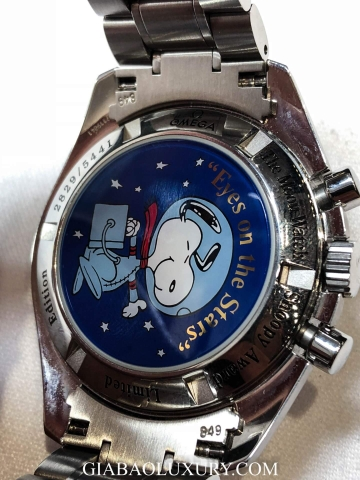 Đồng Hồ Omega Speedmaster Professional The Moon Watch Snoopy