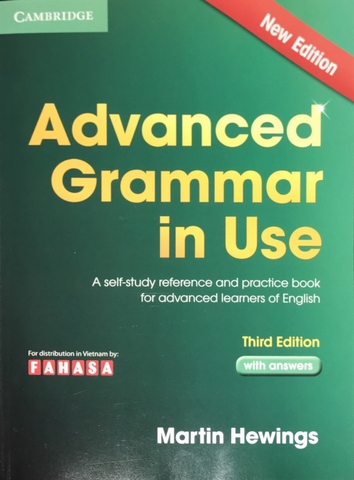 Advanced Grammar In Use - Third Edition With Answers