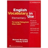 English Vocabulary In Use - Elementary (Tái Bản)