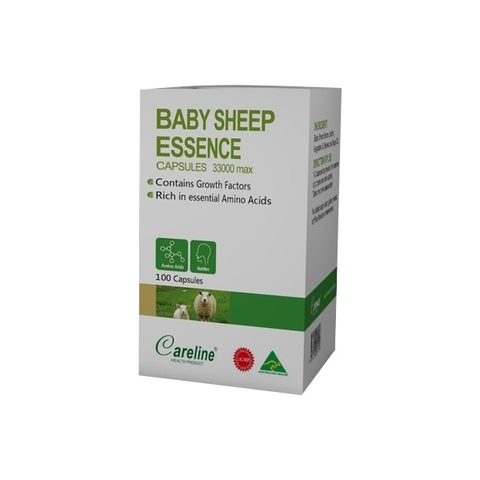 BABY SHEEP ESSENCE CAPSULE- NHAU THAI CỪU 100 VIÊN
