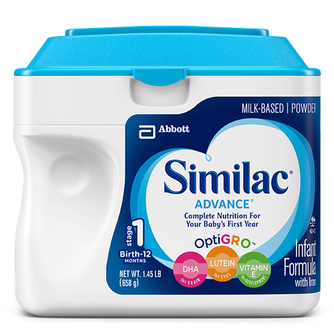 Sữa bột Similac Advance