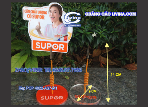 Kẹp POP 4022-AS7-M1, Kẹp Pop-Wobbler
