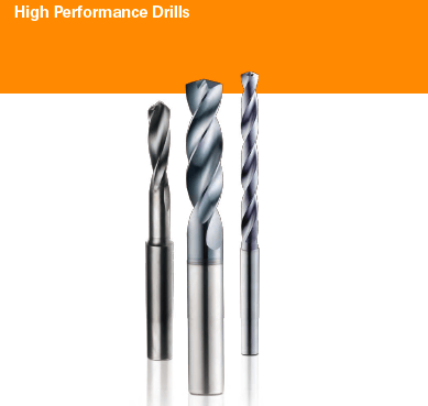 High Performance Drills KYOCERA SGS