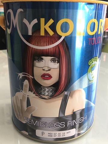 Sơn MYKOLOR SEMIGLOSS FINISH