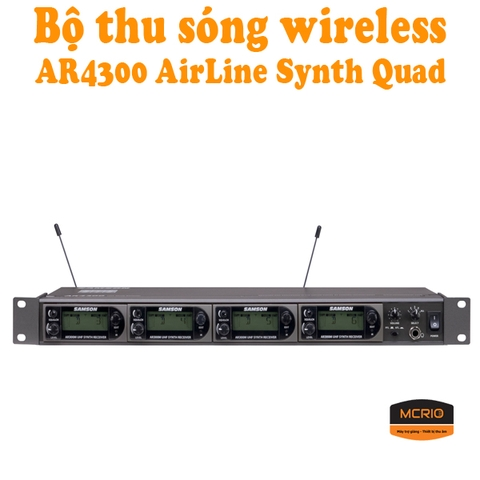 Bộ thu sóng wireless AR4300 AirLine Synth Quad