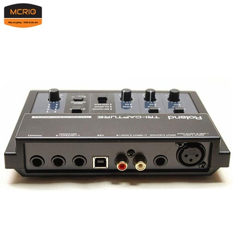 Sound card thu âm ROLAND Tri Capture (UA-33)