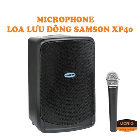 Speakers SAMSON XP40I
