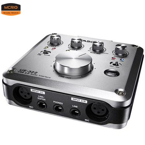 Sound Card thu âm Tascam US-322