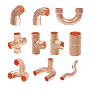 Phụ kiện ống đồng - Copper pipe Fittings